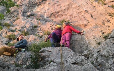 """Klettern und Yoga mit """"Die Kletterschule"""""""