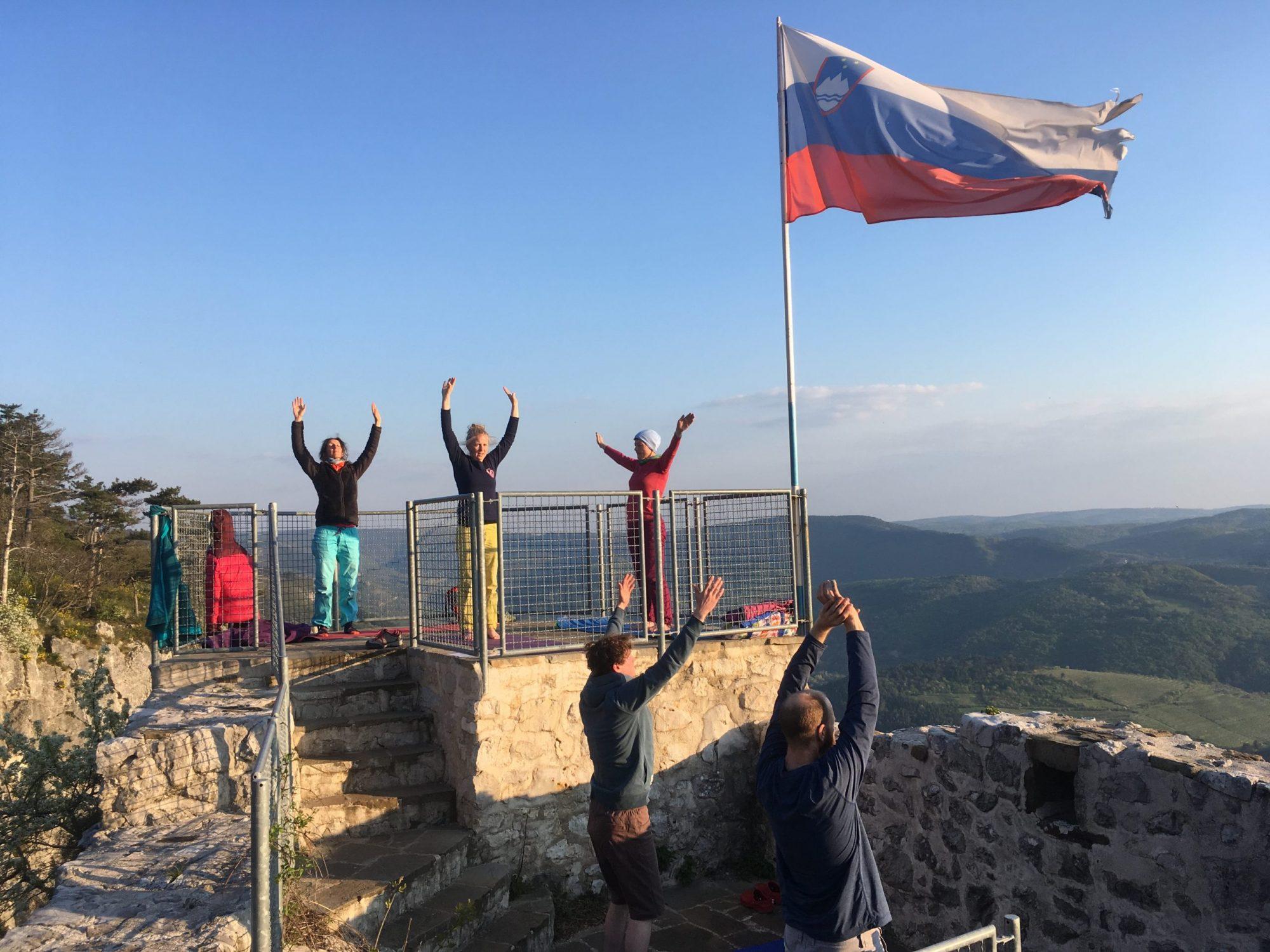 Kletter-Yoga-Reise