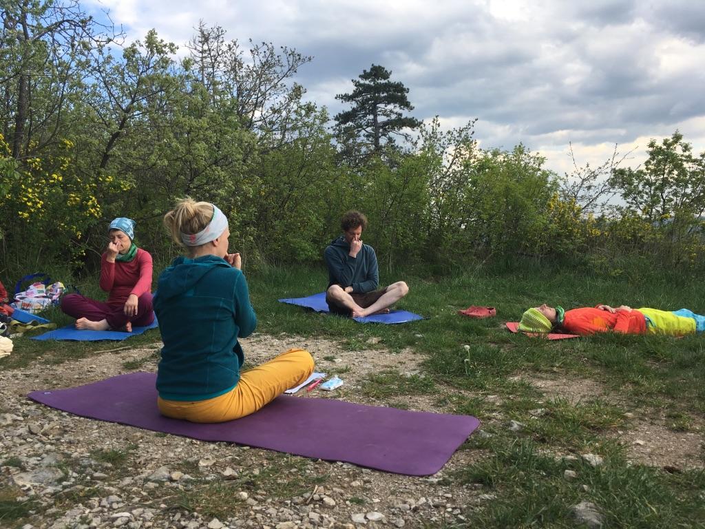 Yoga für Kletterer