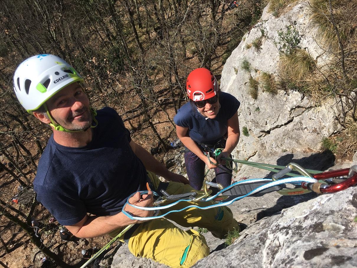 Felskletterkurs mit der Kletterschule