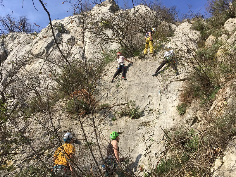 Die Kletterschule - Kletterkurs Fels