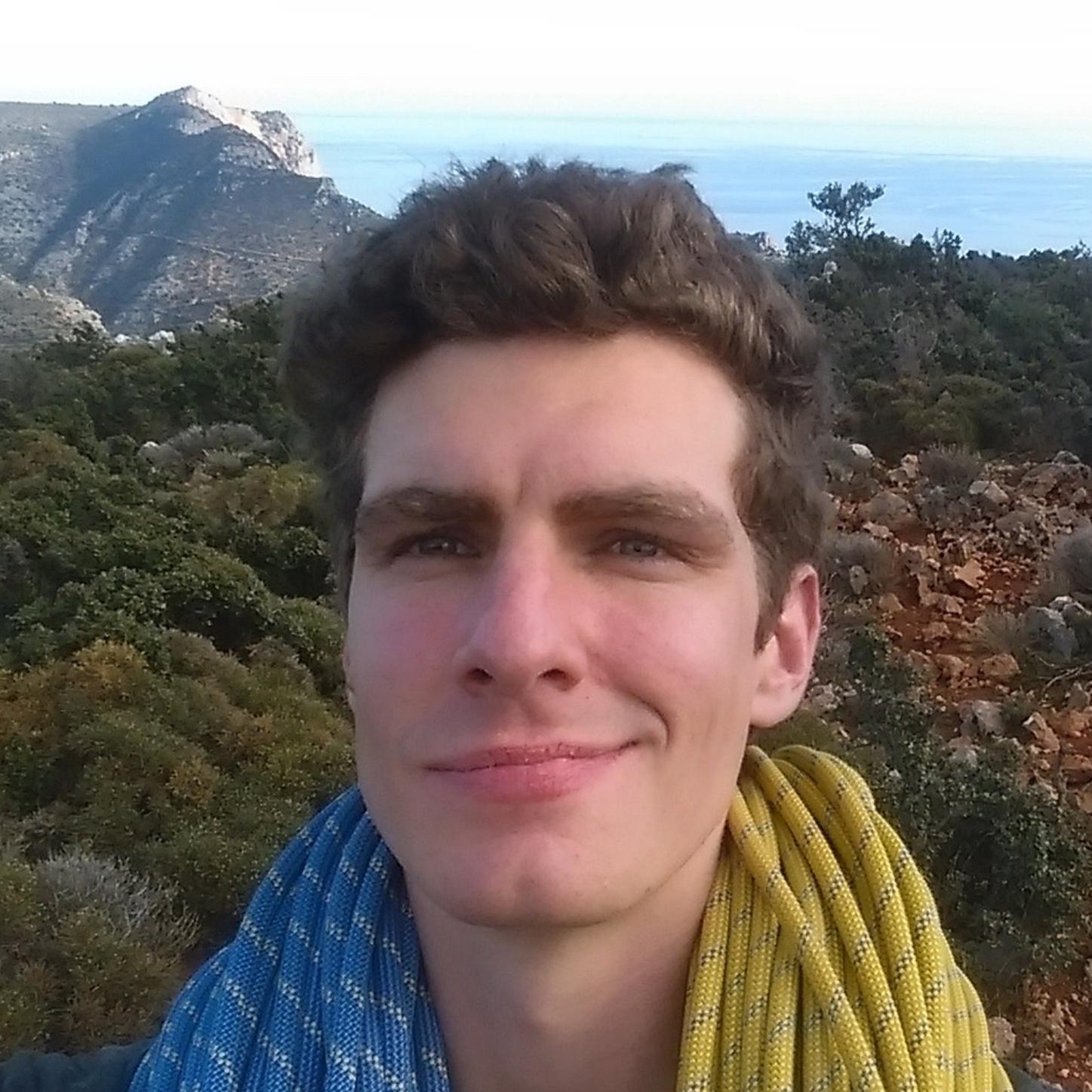 Klettertrainer Johan